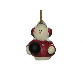 Snowman Bowling collectible