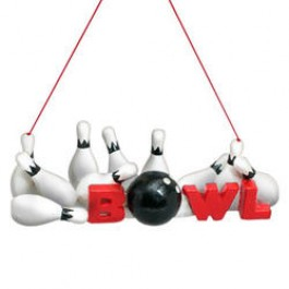 Bowl with Pins Ornament