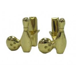 Goldtone Cuff Links