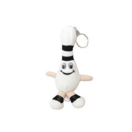 Mini Stuffed Bowling Keychain - Black