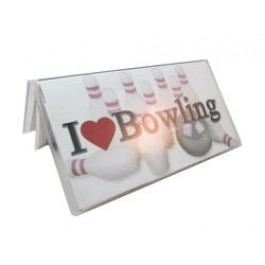 Bowling Checkbook Cover