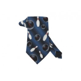 Blue two-tone Necktie