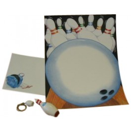 Bowling Stationery Set