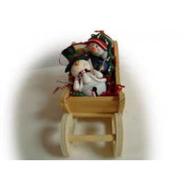 Snowmen Bowling Collectibles Sleigh Package
