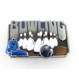 Bowling Kit Belt Buckle
