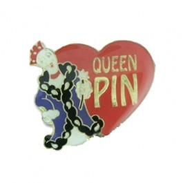 Queen Pin Lapel Pin