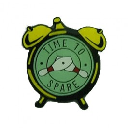 Time to Spare Lapel Pin