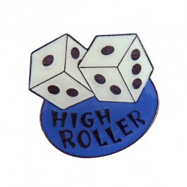 High Roller Dice Lapel Pin