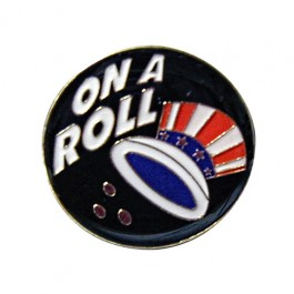 On a Roll Lapel Pin