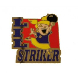 Lil' Striker Girl Lapel Pin