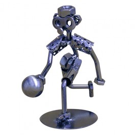 Nuts and Bolts Bowler Statue