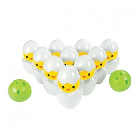 Easter Chick Bowling Set