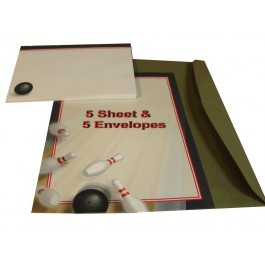 Bowling Stationery & Envelopes