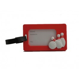 Bowling Luggage Tag