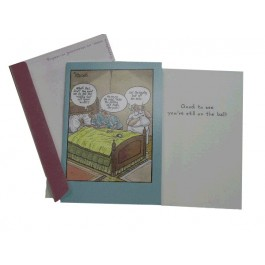 Get Well Bowling Card (Set of 2)