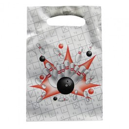Bowling Birthday Party Loot Bags - Set of 8