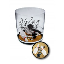 Bowling Compartment Tumbler Cup - 12oz