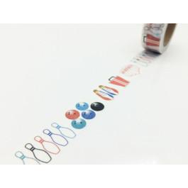 Bowling Designs Paper Masking Tape