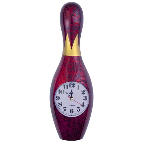 Bowling Pin Wall Clock