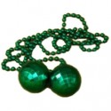 Bowling Ball and Bead Necklace