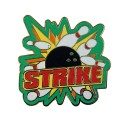 Strike Splash Lapel Pin