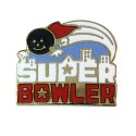 Super Bowler Lapel Pin