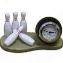 Mini Desk-top Bowling Clock
