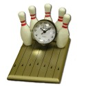 Bowling Alley Mini Clock