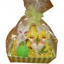 Easter Bunny Bowling Gift Basket