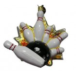 Christopher Radko Thunderbowl Ornament
