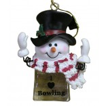 Snowman Ice Cube Ornament