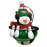 Jingle Bell Penguin with Pins