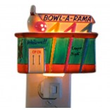 Bowl-a-rama Bowling Alley Night Light