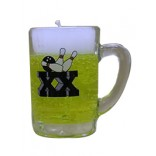 Beer Mug Gel Candle