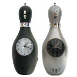 Bowling Pin Clock Radio