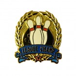 League Champ lapel pin