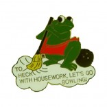 Housework Lapel Pin