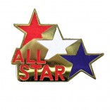 All Star Lapel Pin