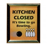 KITCHEN CLOSED Fridge Magnet