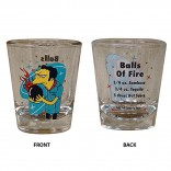 Simpsons Bowling Shot Glass