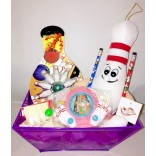 Playful Bowling Gift Basket