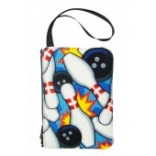 Bowling Pattern Cosmetic Bag