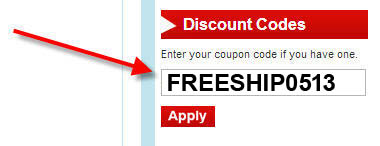 Enter Coupon