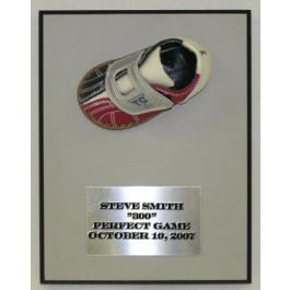Bowling Shoe Engravable Plaque