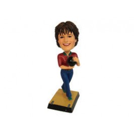 Lady Bobble Head Bowler
