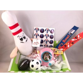 """""""Getting Started"""" little bowlers Gift Basket"""