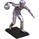 Pewter Bowling Figurine