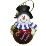 Bowling Buddy Ornament