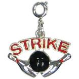 Strike Zipper Pull Charm