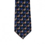 Black Bowling Necktie